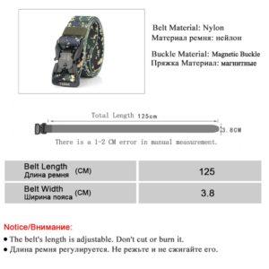 חגורה מבד לחיילים דגם 276
