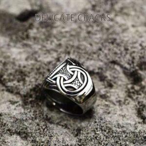 טבעת לגבר ויקינג דגם 0366