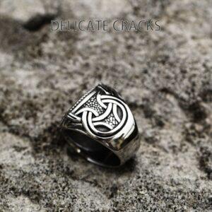 טבעת לגבר ויקינג דגם 0404