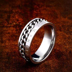 טבעת לגבר ויקינג דגם 0360