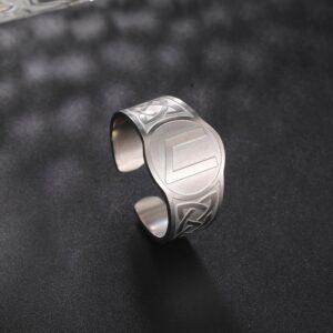 טבעת לגבר ויקינג דגם 0372