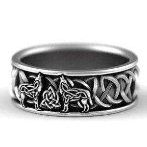 טבעת לגבר ויקינג דגם 0428
