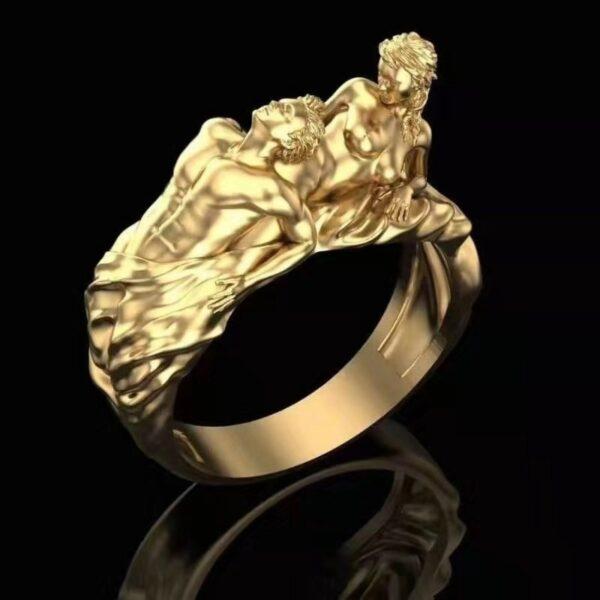 טבעת לגבר ויקינג דגם 0384