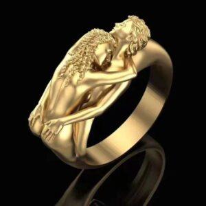 Moda cor ouro amor an is queda amor homens mulheres casal 300x300 - חנות צמידים לגברים נשים וילדים - bracelet-shop
