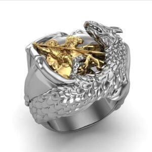 טבעת לגבר ויקינג דגם 0371