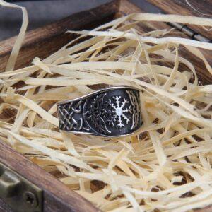 טבעת לגבר ויקינג דגם 0370