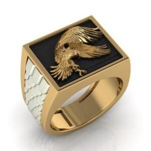 טבעת לגבר ויקינג דגם 0369