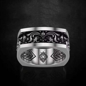 טבעת לגבר ויקינג דגם 0362
