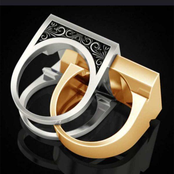 טבעת לגבר ויקינג דגם 0402