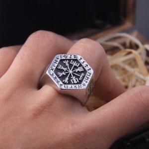 טבעת לגבר ויקינג דגם 0425
