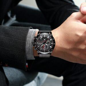 שעון יד יוקרתי לגבר דגם 2105