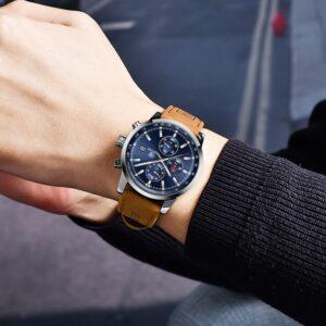 שעון יד יוקרתי לגבר דגם 2127