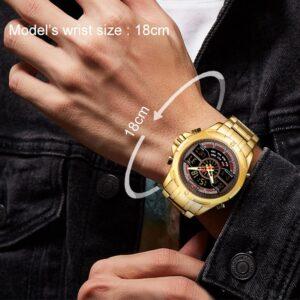שעון יד יוקרתי לגבר דגם 2134